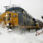 Railroad operator CSX quarterly profit exceeds Wall Street target