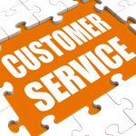 "How does customer service do ""risk control""?"