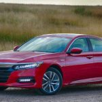 Honda Accord Hybrid Touring 2018, an elegant mid-size sedan with a light thirst