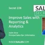 How to improve sales with Reporting & Analytics | The sales insider