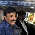Janardhana Reddy comes to the police for questioning