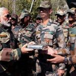 Prime Minister celebrates Diwali with soldiers near the Indo-Chinese border