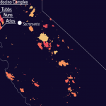 See how much California has burned in the last five years