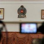 Sri Lankan PM and 44 former MPs resign from party led by president before election