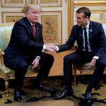"Trump and Macron hear about the defense after ""insulting"" the spitting of the European army"