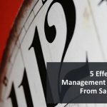 Effective time management strategies of sales experts
