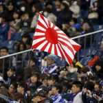 """South Korea calls on the IOC to ban Japan's use of the """"rising sun"""" flag at the Olympics"""