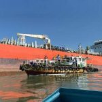 Work to drain naphtha from stranded vessels is declining